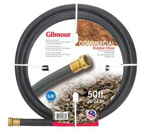 Gilmour 19-58050 Hose 5/8x50 ft Rubber Reinforced