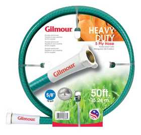 Gilmour 26-58050 Outdoor Hose 50 ft 5ply Radial Bi Flex
