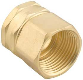 Gilmour 7FPS7FH 3/4-Inch Brass Heavy Duty Double Female Swivel Connector