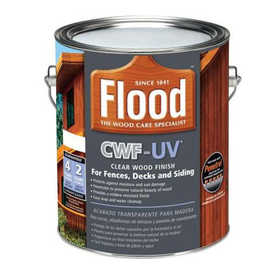 Flood FLD27 Cwf-Uv Exterior Wood Finish Honey Gold Gal