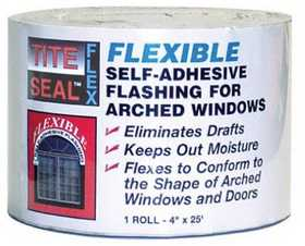 Co-Fair TSF425 Self Adhesive Flexible Arch Window And Door Flashing 4 in X25 ft