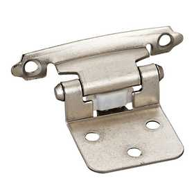 HARDWARE RESOURCES P5011SN Satin Nickel Flush Hinge