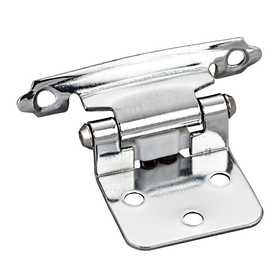 HARDWARE RESOURCES P5011PC Chrome Flush Hinge