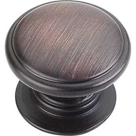HARDWARE RESOURCES 3980-DBAC Durham Oil Rubbed Bronze Cabinet Knob 1-1/4 in