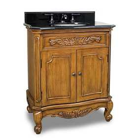 HARDWARE RESOURCES VAN060-T Clairmont Vanity With Top 30-1/2 in