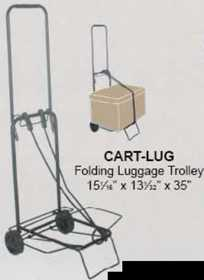 Hawk Tools Portable Plastic Luggage Cart Cart Lugguage Portable Plastic