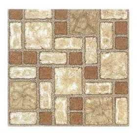 Heart Of America 74175AP Ultrashine Plus 12x12 Beige Mosaic Vinyl Tile 40 Sq. Ft.