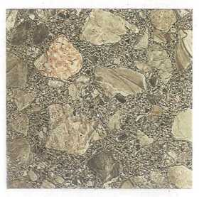 Heart Of America 01617P Ultrashine Plus 12x12 Brown Patio Stone Vinyl Tile 40 Sq. Ft.