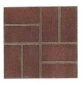 Heart Of America 85211 Ultrashine 12x12 Red Brick Vinyl Tile Carton Of 45