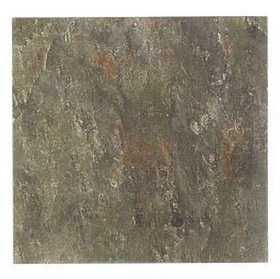 Heart Of America ESB00812B EARTH Earthstone 12x12 Taupe Slate Vinyl Tile Carton Of 30