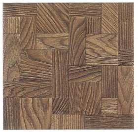 Heart Of America 13602 ULTRA Ultrashine 12x12 Haddon Hall Wood Vinyl Tile Individual Tile