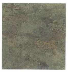 Heart Of America CL1700EVERSHINE Evershine 12x12 Rustic Brown Stone Vinyl Tile Individual Tile