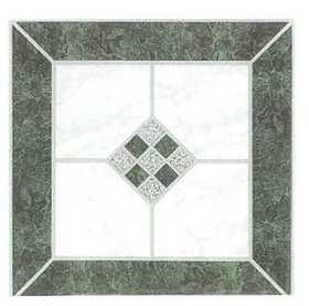 Heart Of America 88904 ULTRA Ultrashine 12x12 Green Diamond Vinyl Tile Individual Tile