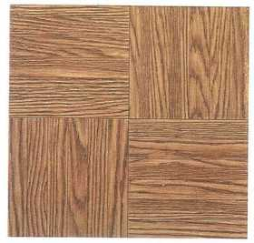 Heart Of America 12103 ULTRA Ultrashine 12x12 Finger Block Wood Vinyl Tile Individual Tile