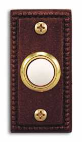 Heath 928-B Doorbell Push Button Copper Lighted