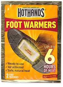 HEATMAX, INC HF1 Foot Warm Up