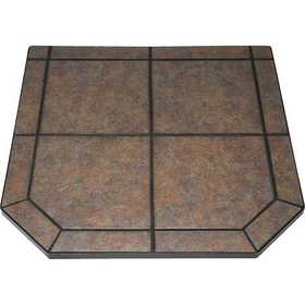 Hearth & Home Technologies 4040SQ-TAR-T1 Hearth Pad 40x40 Type I Tartar