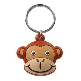 Hillman 711580 Monkey Head Key Chain Pvc