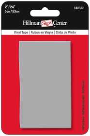 Hillman 840382 Reflective Tape 24x2 Solid Silver