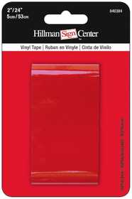 Hillman 840384 Reflective Tape 24x2 Solid Red