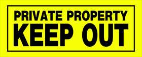 Hillman 841804 Private Property Sign 6x15