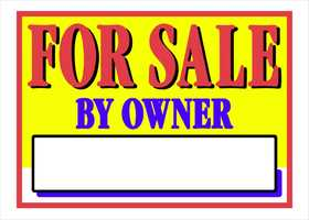 Hillman 842118 For Sale By Owner Sign 10x14
