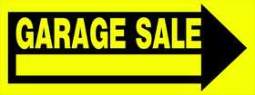 Hillman 842334 Garage Sale Sign 10x24