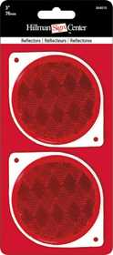 Hillman 844010 3 in Red Reflector Combo