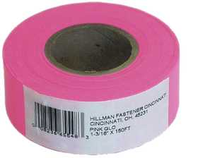 Hillman 845769 Flagging Tape 150 ft Pink