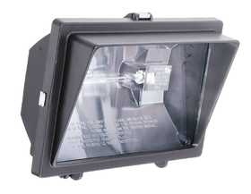 Lithonia Lighting OFL300500Q120L Halogen Floodlight Bronze W/Visor 1 Light