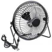Howard Berger 6USB 6 in Usb Powered Metal Desktop Fan Keep Cool With A Fan Operated By A Usb Cable Tgc-Uf6-Pb