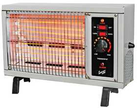 Comfort Zone CZ550 Heater Electric Radiant 1500w