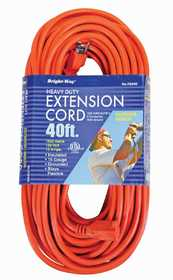 Howard Berger R2640PDQ 40 ft Outdoor Orange Extension Cord