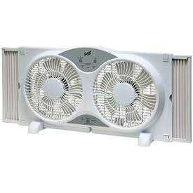 Comfort Zone CZ310R Reversible Deluxe Window Fan W/Remote Control 9 in