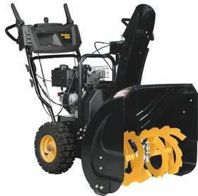 Husqvarna PR241 24 In Dual Stage Snow Thrower Electric Start Poulan Engine