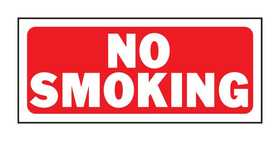 Hy-Ko Products 23003 Sign No Smoking 6x14
