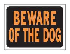 Hy-Ko Products 3002 Sign Beware Of The Dog 9x12