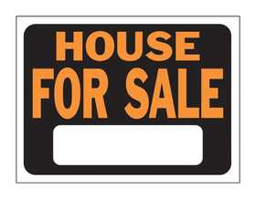 Hy-Ko Products 3004 Sign House For Sale 9x12