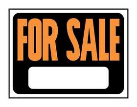 Hy-Ko Products 3006 Sign For Sale 9x12
