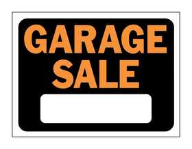 Hy-Ko Products 3023 Sign Garage Sale 9x12