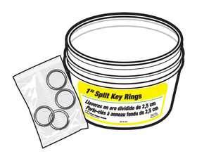 Hy-ko Products KB105-BKT Key Ring 1 In Split Bucket
