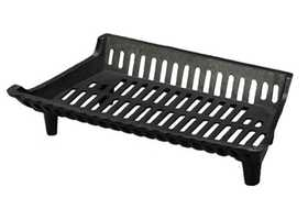 HY C COMPANY G27 Cast Iron Fireplace Grate, 27 in