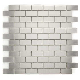 ICL G-308 Urban Metal Collection G308 12x12 in Mosaic Tile Sheet