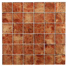 ICL I-441 Trend Foil Collection I441 12x12 in Mosaic Tile Sheet