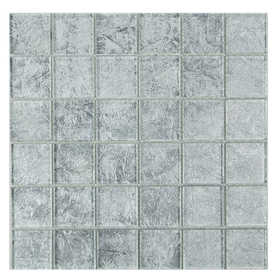 ICL I-439 Trend Foil Collection I439 12x12 in Mosaic Tile Sheet