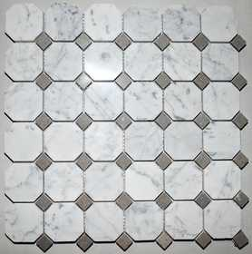 ICL H-525 Marble Mix Collection H525 12x12 in Mosaic Tile Sheet
