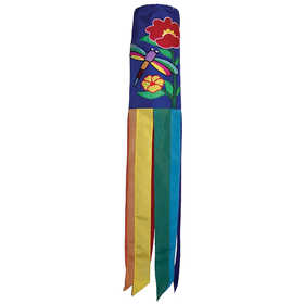 In The Breeze ITB-4193 Dragonfly Garden Windsock 40 in