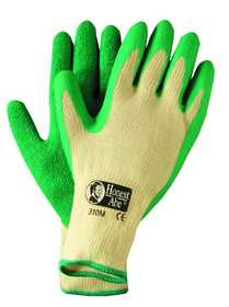 Illinois Glove Co 310WM Latex Rubber Palm Br Yellow Women Med