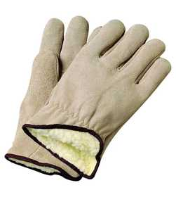 Illinois Glove Co 40XL Driver Suede Cowhide/Pile Xlg