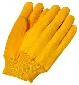 Illinois Glove Co 414L Chore Glove Yellow Cotton Large